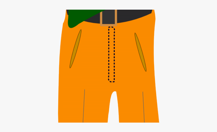 Sports wear board short. Clothing clipart spare clothes