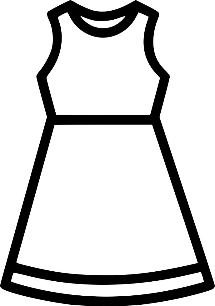 Cloth dress fashion women. Clothing clipart thin clothes