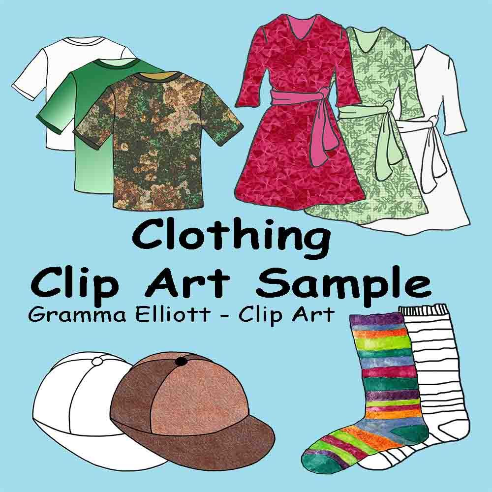 Free clip art realistic. Clothing clipart used clothes