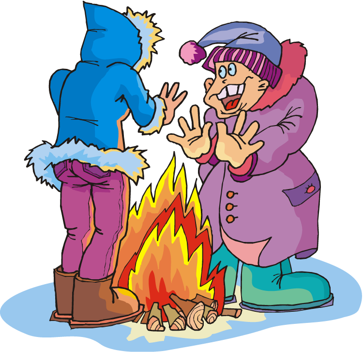Season cold weather pencil. Fireplace clipart winter