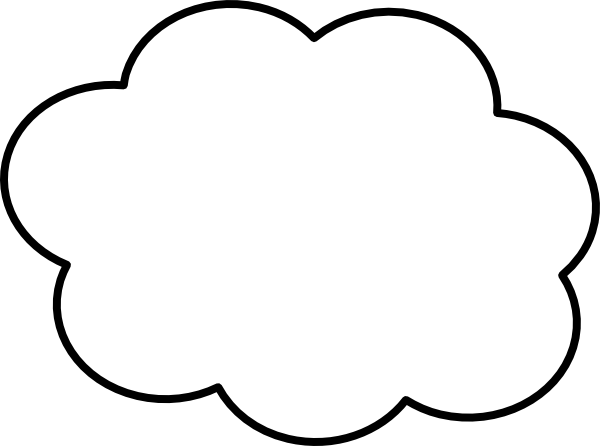 Thin hi clip art. Cloud border png