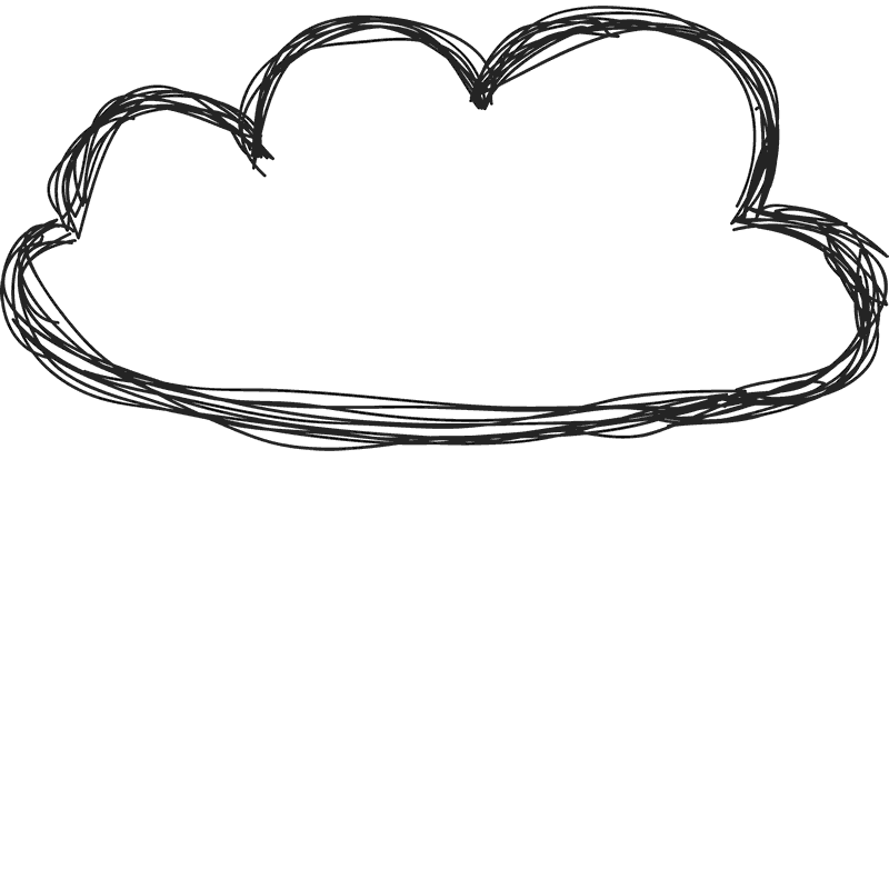 Cloud border png. Doodle rubber stamp miscellaneous