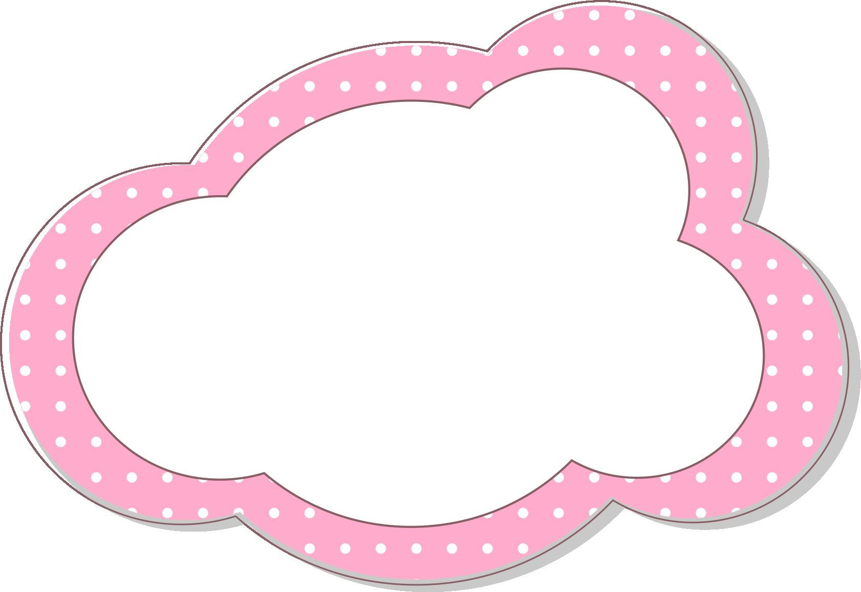 Adobe illustrator computer file. Cloud border png