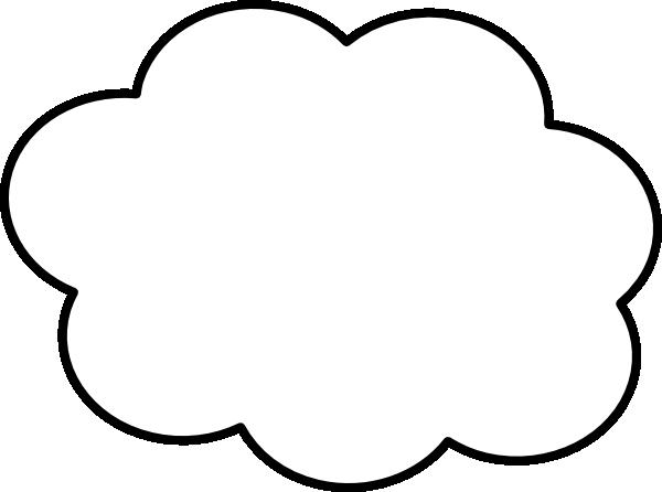 Thin clip art at. Cloud border png