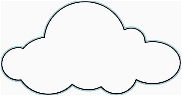 Clouds clipart. Free best of cloud