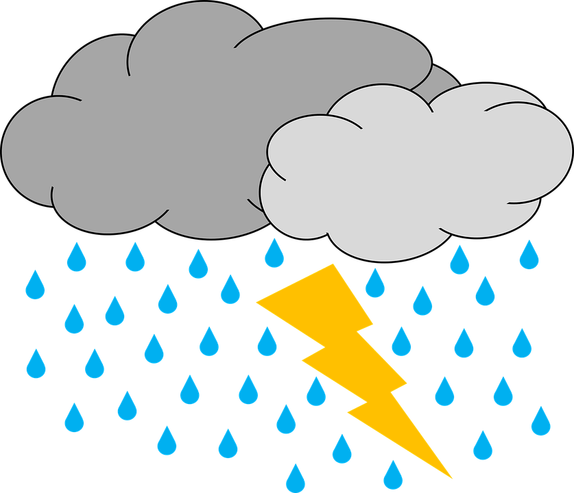 Pictures of cartoon clouds. Wet clipart rain clipart