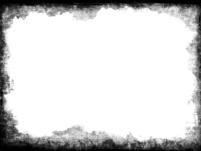 Grunge frame png. Vignette border transparent for