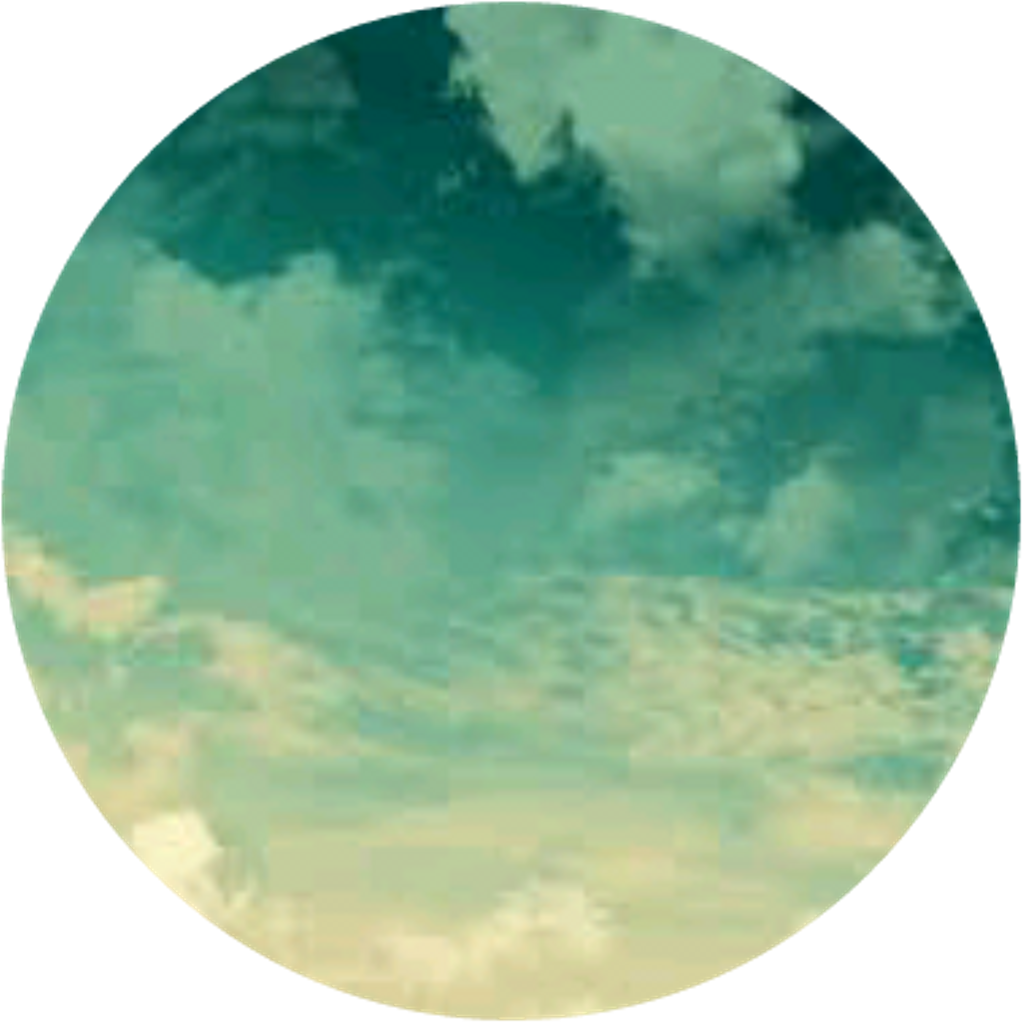 Cloud clipart circle. Green grunge ombre clouds