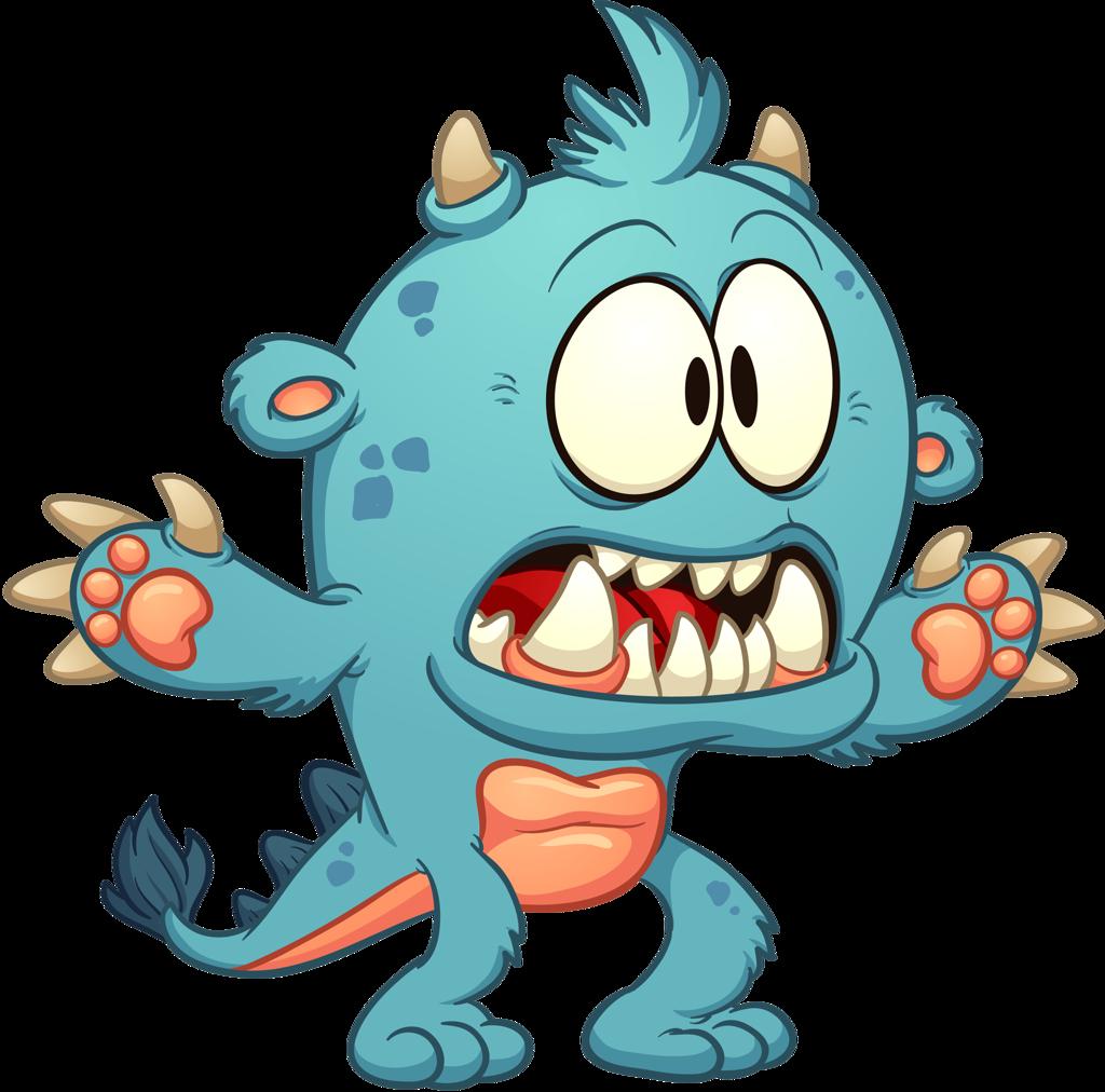 Monster clipart slimy. Shutterstock png pinterest monsters