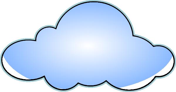 Cloud clipart fluffy cloud. Clip art at clker
