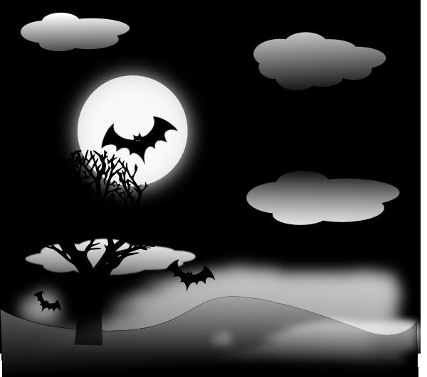 Halloween clip art at. Landscape clipart land scape