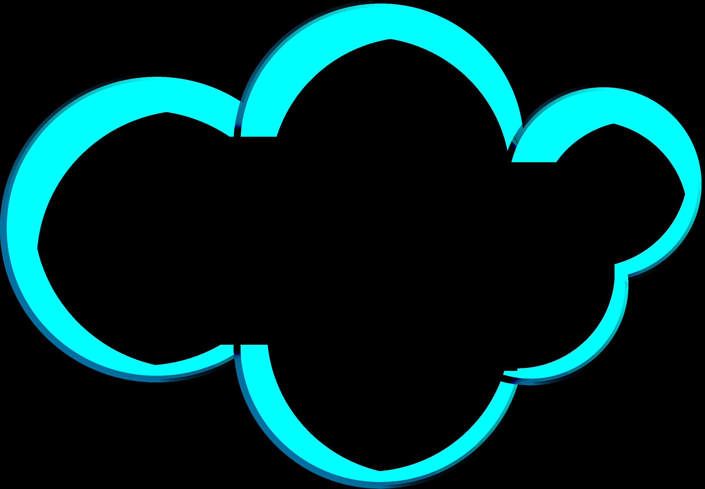 Clip art clouds transprent. Cloud clipart heart
