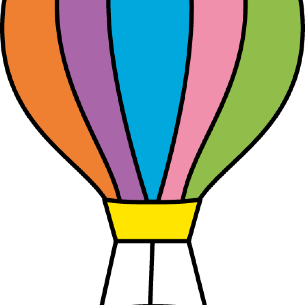 Clouds clipart hot air balloon. Clip art christmas hatenylo