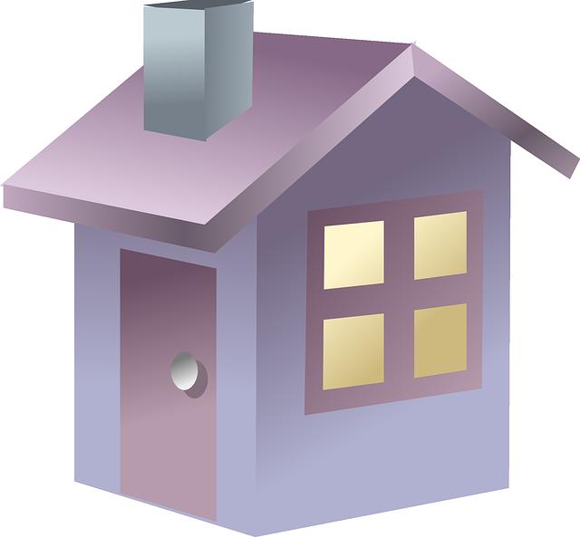 cloud clipart house