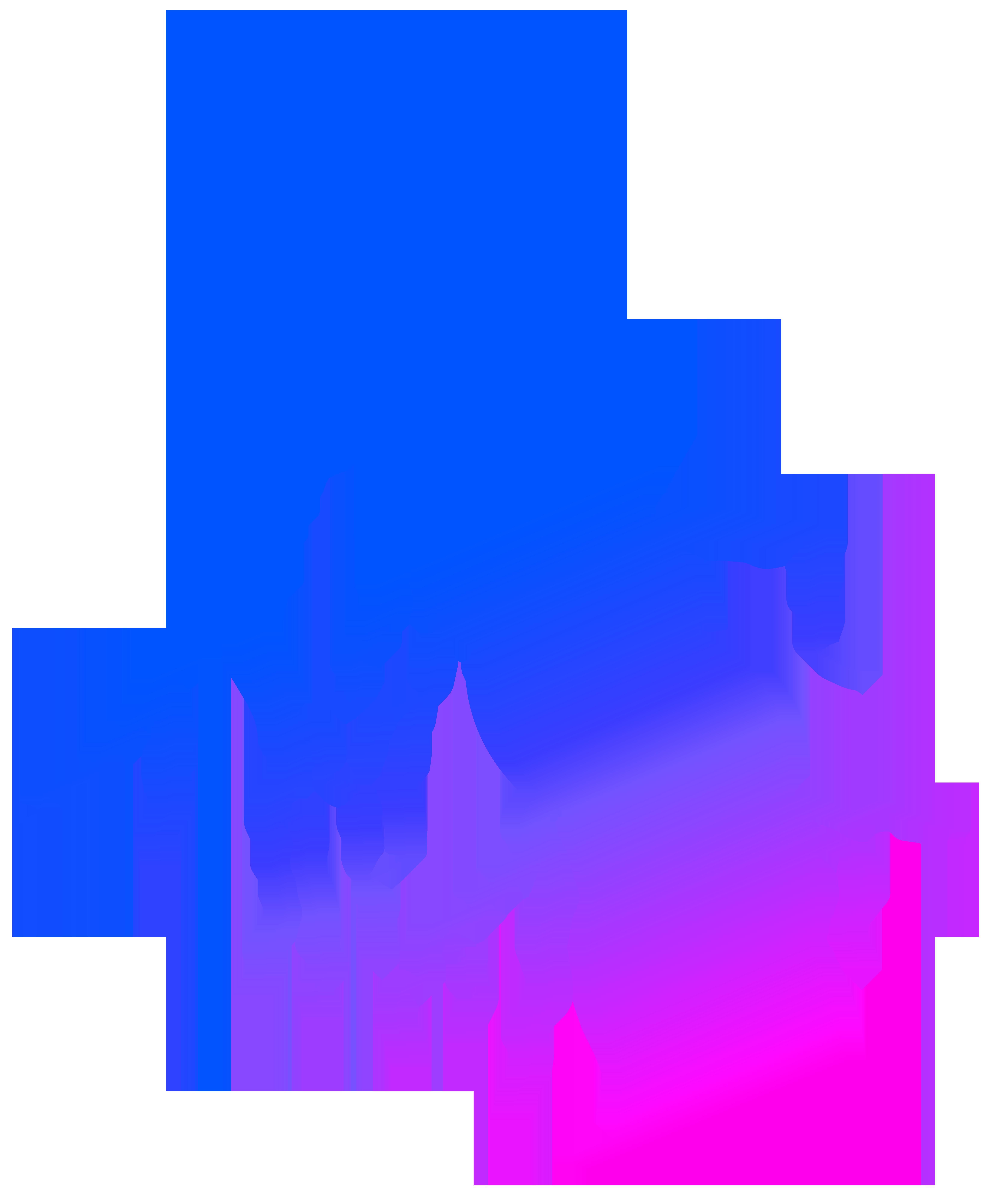 Lightning clipart blue. Colorful png transparent clip