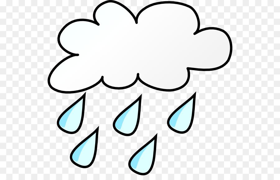 Wet clipart rain cartoon. Cloud thunderstorm