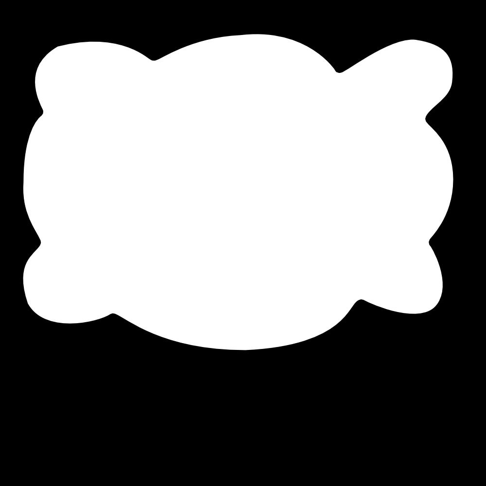Cloud clipart rectangle. Onlinelabels clip art callout