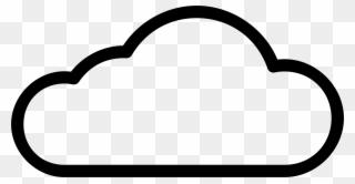 Cloud clipart simple. Icon flat base logo
