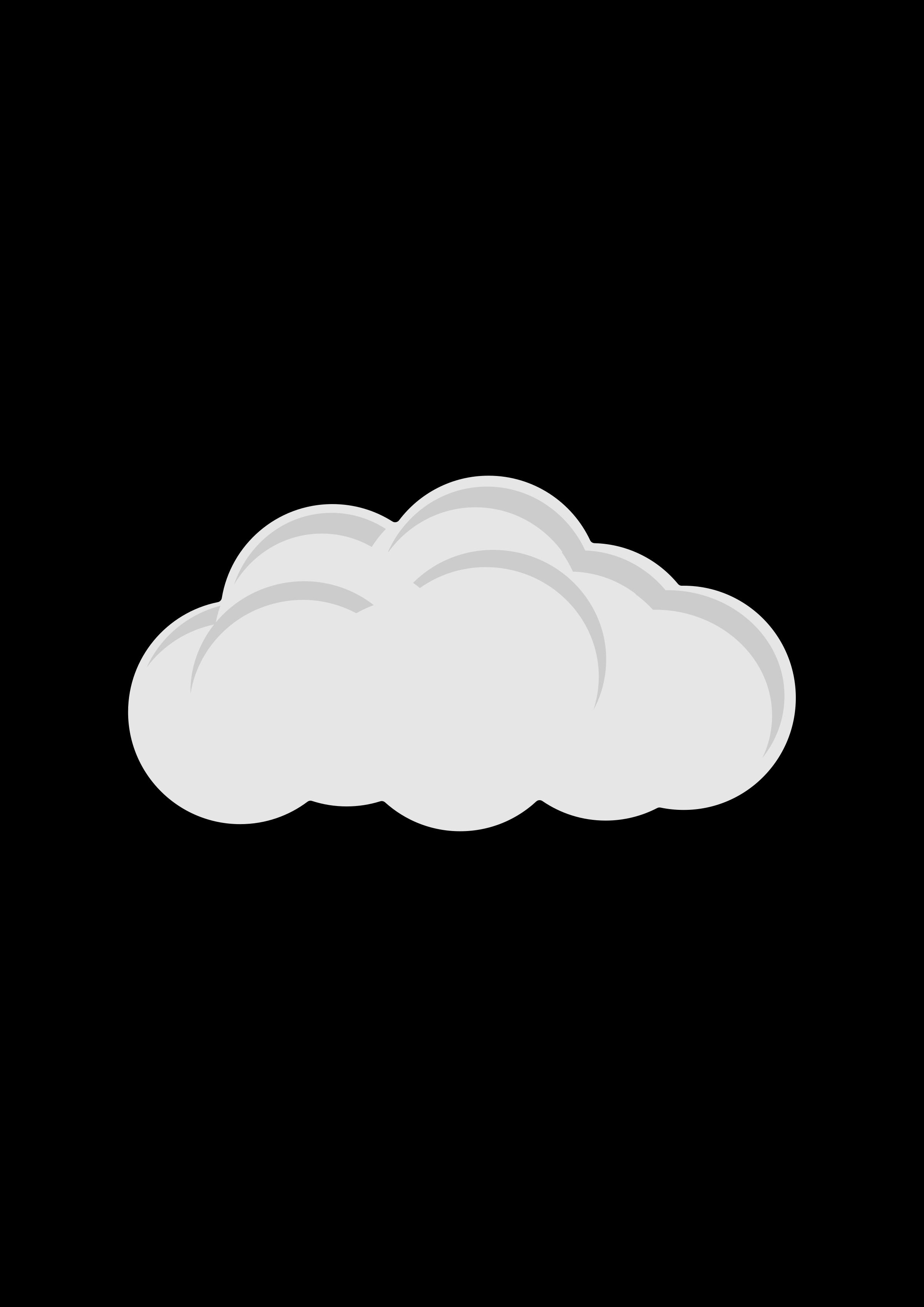 Big image png. Cloud clipart simple