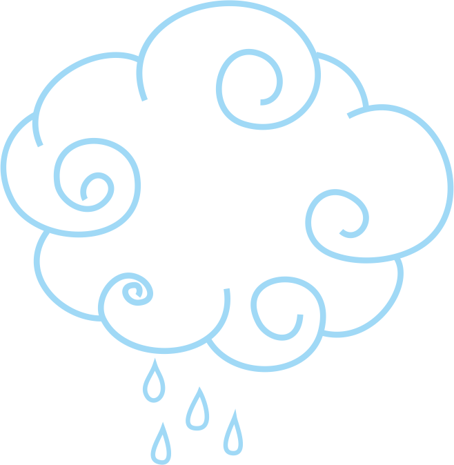 Cloud clipart square. Drawing rain clouds transprent