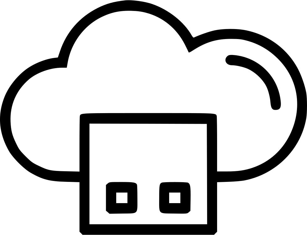 cloud clipart square