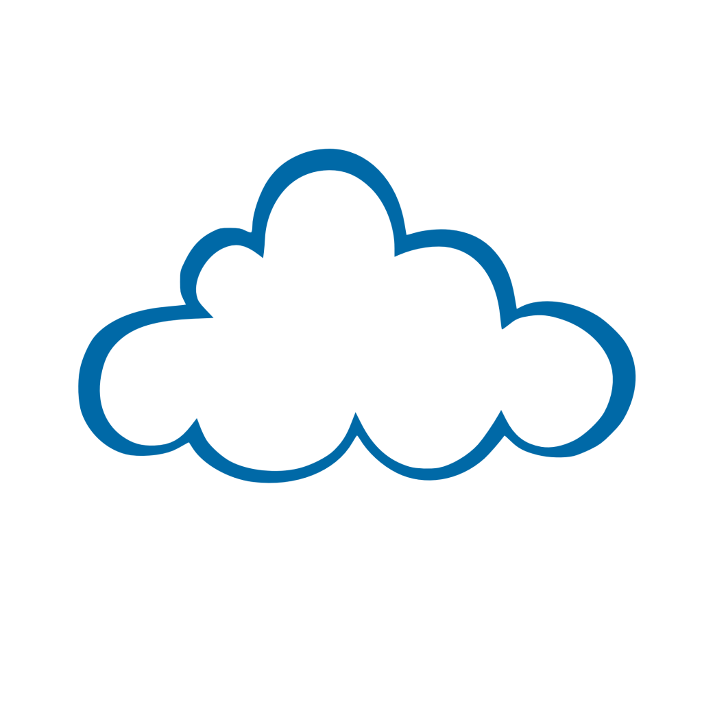 Raindrop clipart cloud. Computing group free clip