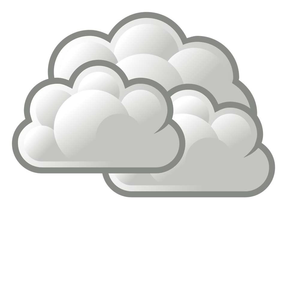 Weather free stock photo. Cloudy clipart two cloud