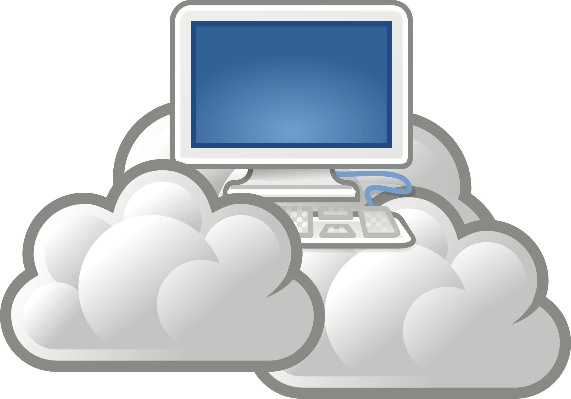 Website clipart electronics. Cloud hosting services why
