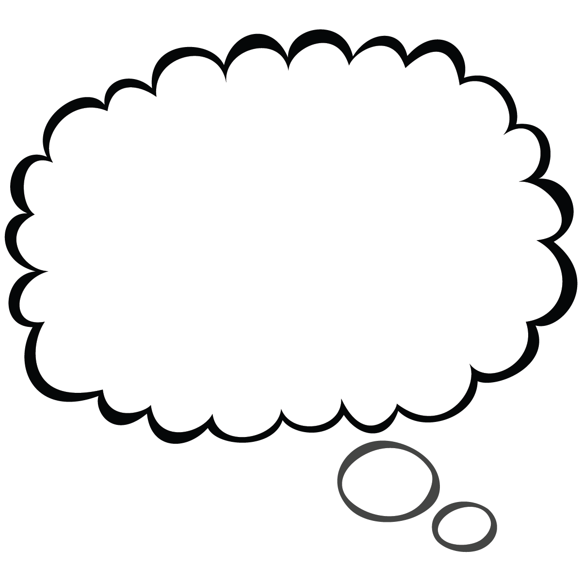 Cloud clipart thought bubble. Scal svg speech pinterest