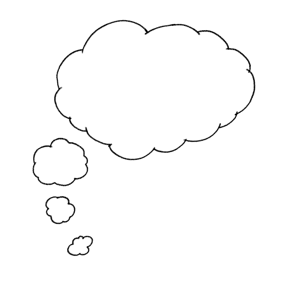 Thoughts clipart dream bubble. Thought png pictures transparentpng