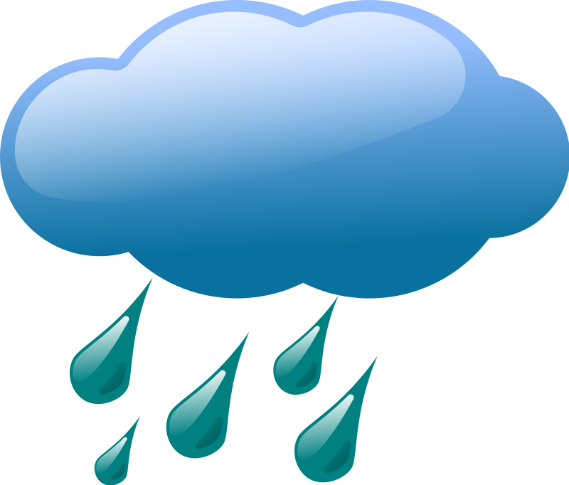 Raindrop clipart cloudy with. Snow storm clip art