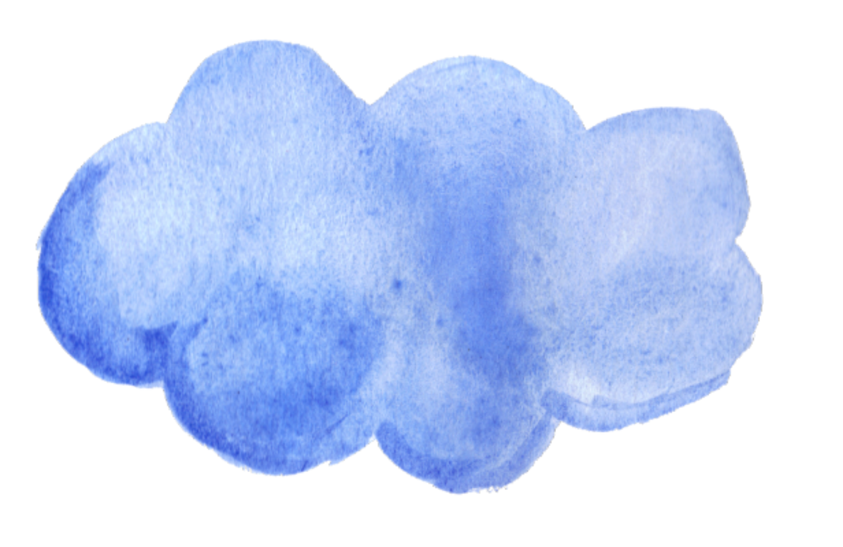 Cloud clipart watercolor. Discover the coolest ftestickers