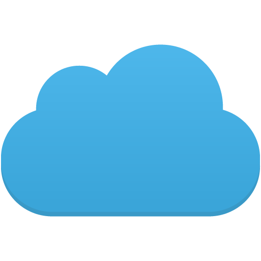 Flatastic iconset custom design. Cloud icon png