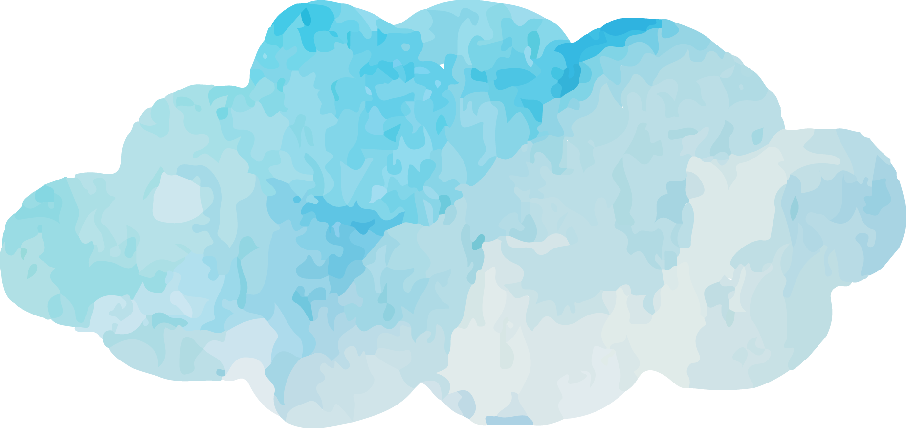 Cloud vector png. Blue sky turquoise font