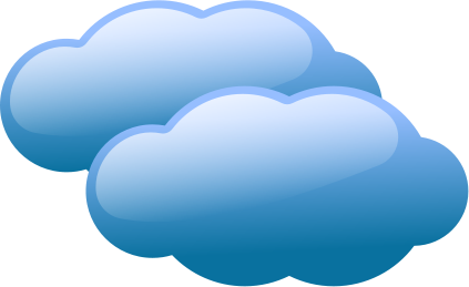 Clouds clipart. Cloud panda free images