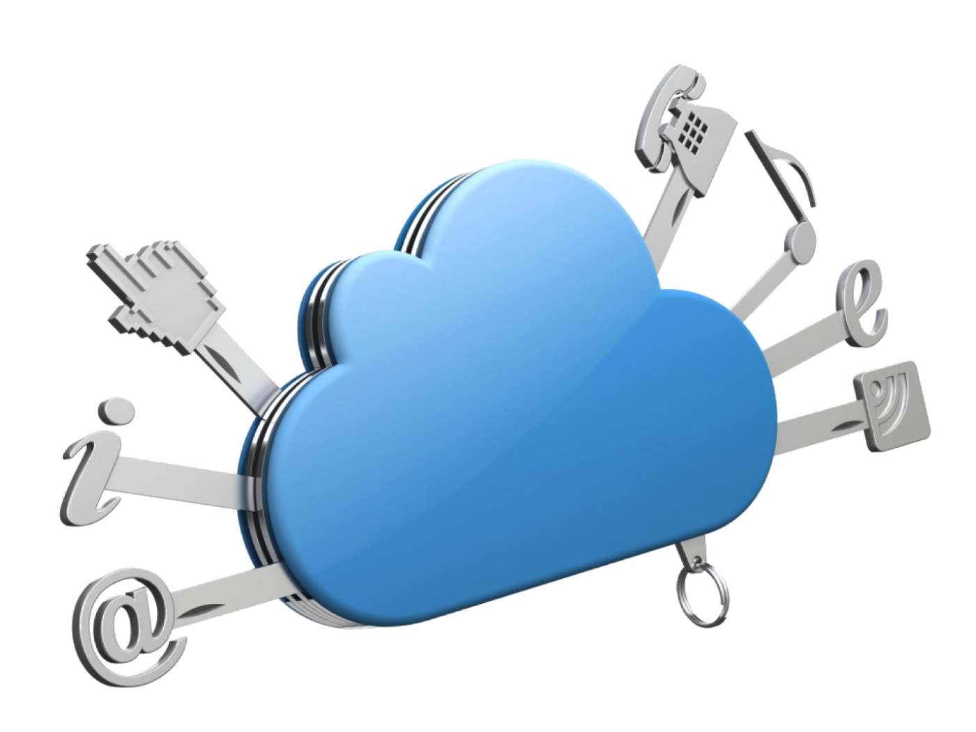 Security advantages and disadvantages. Clouds clipart cloud computing