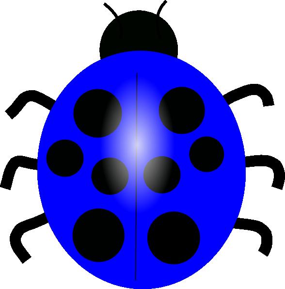 Dark blue clip art. Ladybug clipart l be for