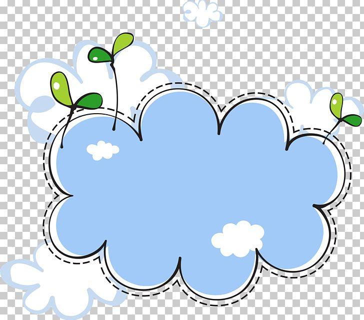 Clouds clipart frame. Cloud euclidean png blue