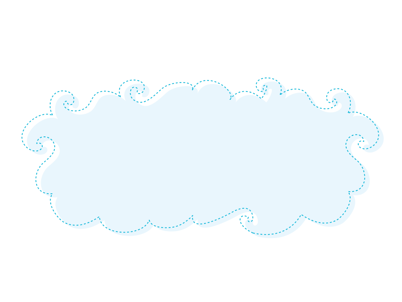 Blue background panda free. Clouds clipart rectangle