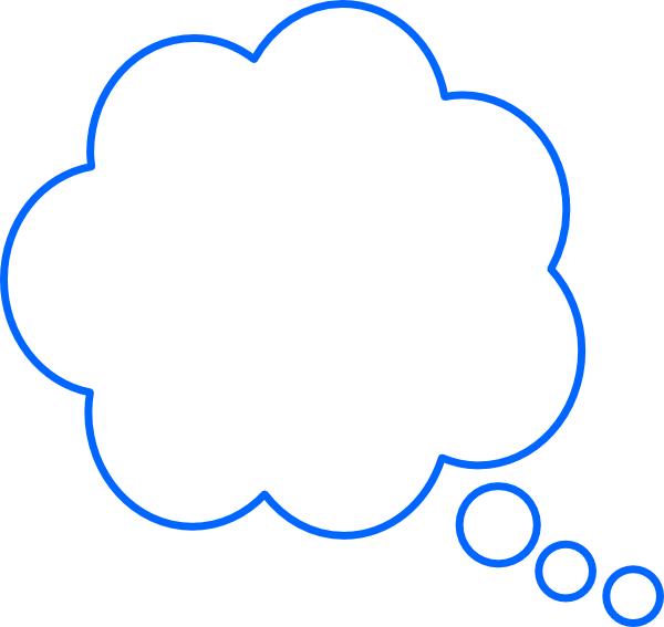 Dreaming clouds free on. Number 6 clipart bubble