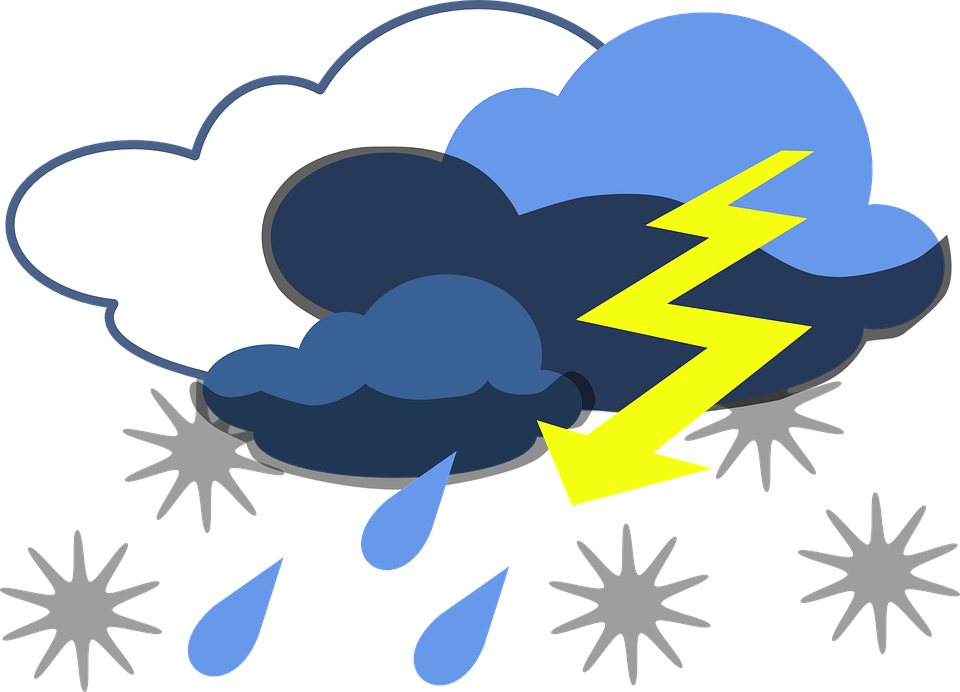 Lightning clipart thundercloud. Rain cloud animated clouds