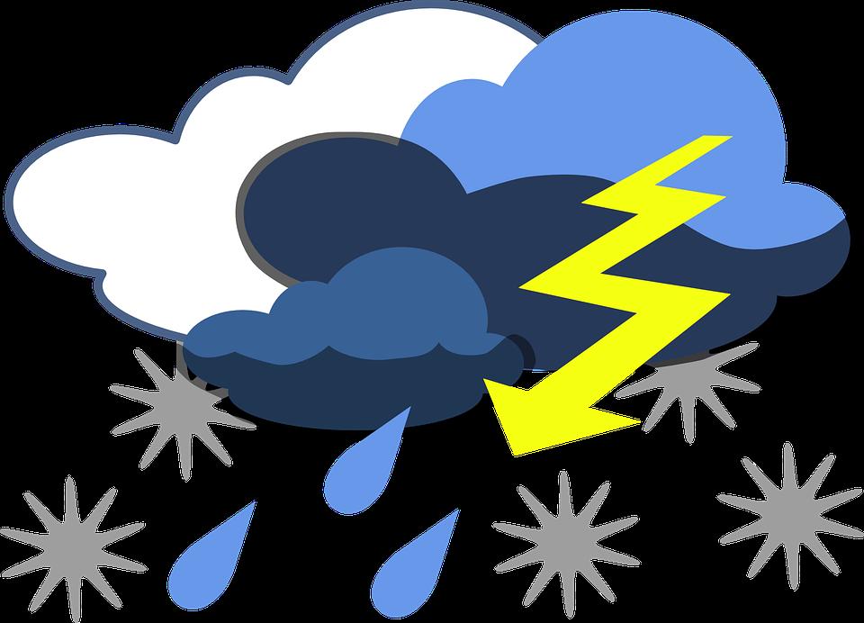 Lightning clipart thundercloud. Rain cloud animated clouds