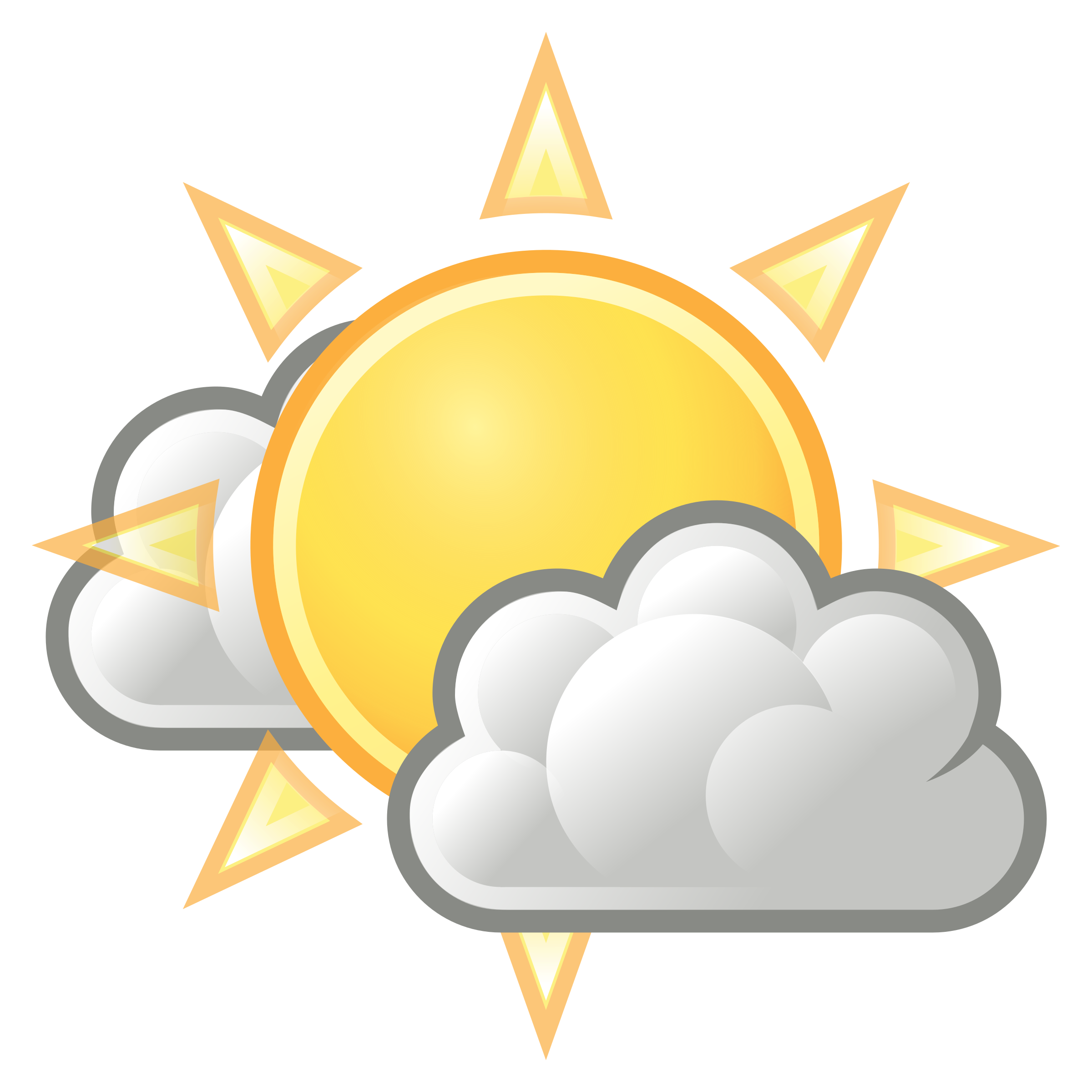 Tango weather few clouds. Sunny clipart background