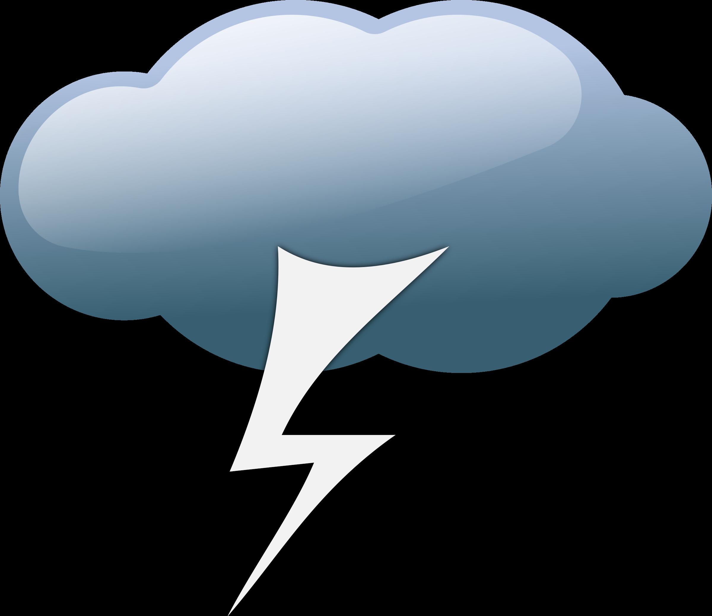 Weather symbols big image. Windy clipart cloud