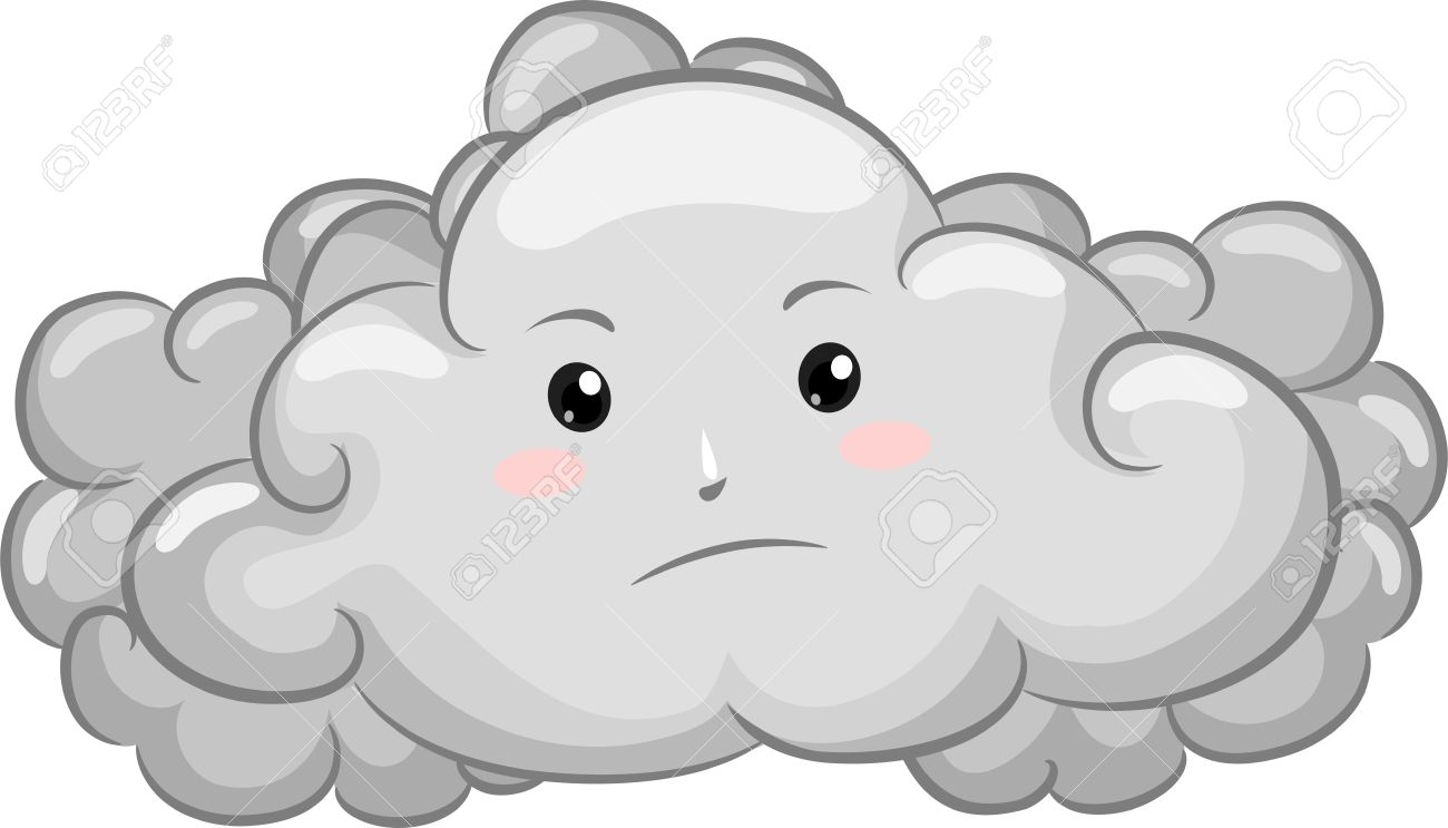 Unique gallery digital collection. Cloudy clipart