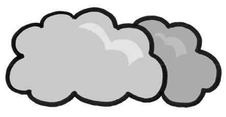 Cloudy clipart. Stylist inspiration weather jpg