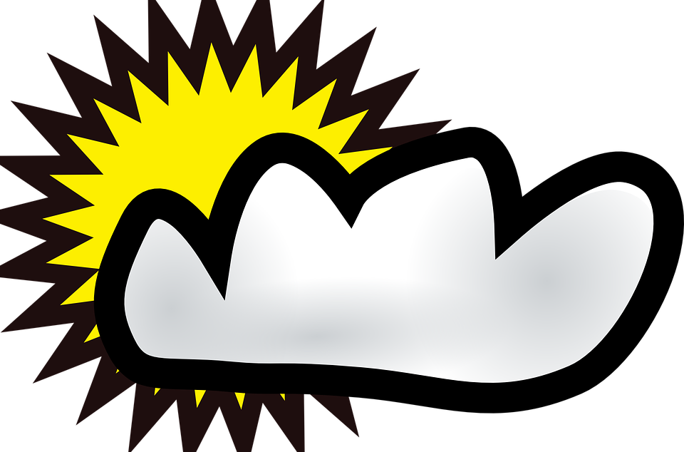 Cloudy clipart animated. Partly shop of library