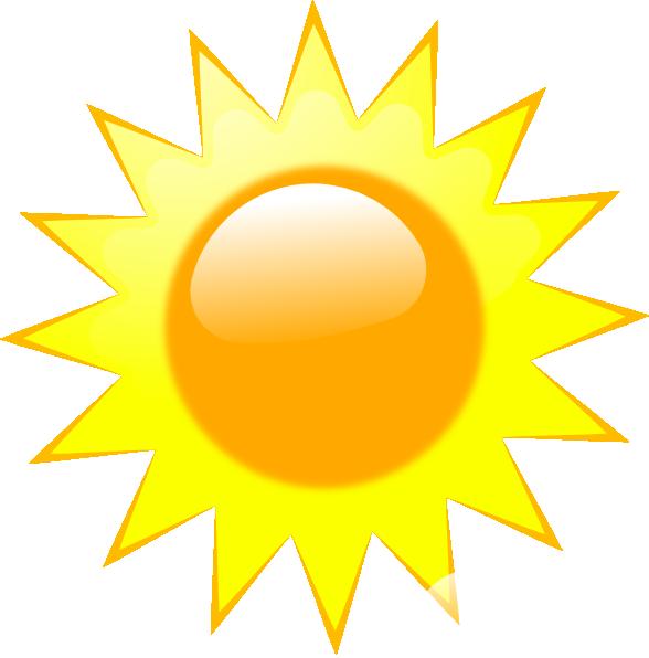 Sunny weather ed clip. Windy clipart icon