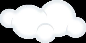 Clip art at clker. Cloudy clipart awan