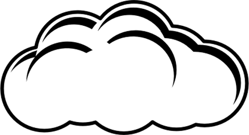 Cloudy clipart awan. Free cliparts download clip